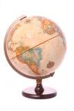 Globe on white background Royalty Free Stock Images