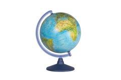 Globe on white background Royalty Free Stock Image