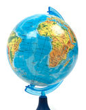 Globe on a white background Stock Photos