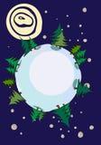 Globe winter Stock Photo