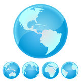 Globe of the world Stock Image