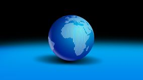 Globe World Stock Image