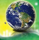 globe world διανυσματική απεικόνιση