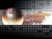 Globe world royalty free illustration
