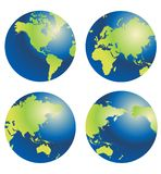 Globe of the World Royalty Free Stock Image