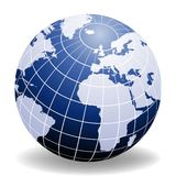 Globe of the World. Europe and Africa Royalty Free Stock Photography