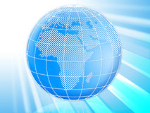 Globe World Means Backgrounds Earth And Global Royalty Free Stock Photo