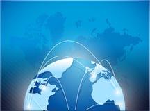 Globe world network illustration design Royalty Free Stock Photography