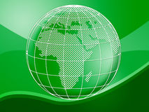 Globe World Represents Background Planet And Backgrounds Stock Photos