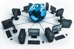 Globel communication concept vector illustration