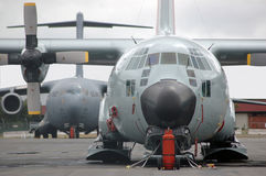 Globemaster ready to go stock photo