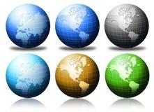 Globes Stock Image