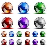 Globes Royalty Free Stock Photography