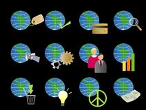 Globes Image stock