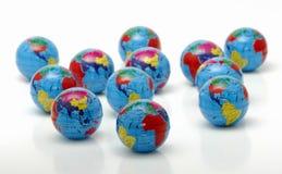Globes photos libres de droits