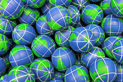 Globes Royalty Free Stock Photo