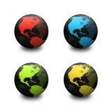 Globes Stock Illustration