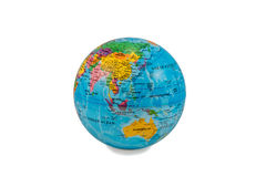 Globes with Australia Royalty Free Stock Photography