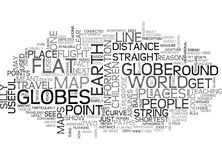 When Globes Can Be Useful Word Cloud Royalty Free Stock Photo