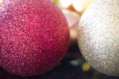 Globes, Christmas ornaments.  Stock Photos