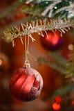 Globes de Noël Photo libre de droits