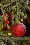 Globes de Noël Images stock