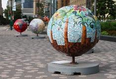 Globes frais Photographie stock libre de droits