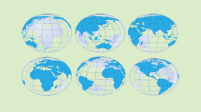 Globes Stock Photography