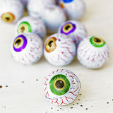 Globes oculaires de sucrerie Photo stock