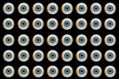 Globes oculaires de Veille de la toussaint Photo libre de droits