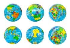 Globes set Stock Photography