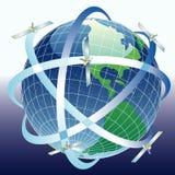 Globesatelite6208 Stock Images