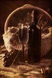 globet wino Fotografia Stock