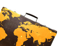 Globetrotter suitcase Stock Images
