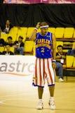 Globetrotters van Harlem Basketbal - Algemene Toelage Stock Foto's
