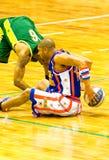 Globetrotters van Harlem basketbalteam Stock Afbeelding