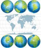 Globi Immagine Stock Libera da Diritti