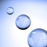 Globi del mondo Fotografie Stock