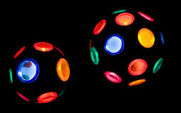Globi della discoteca Immagine Stock Libera da Diritti