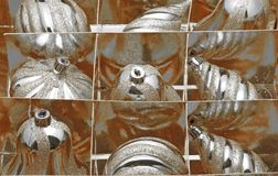 Globi di Chirsmas Fotografia Stock Libera da Diritti