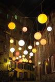 Globi di indicatore luminoso Immagini Stock