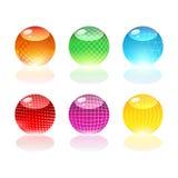 Globi di vetro Fotografia Stock Libera da Diritti