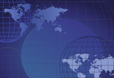Globi e programmi Fotografia Stock