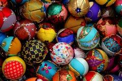 Globi per l'albero di Natale Fotografie Stock Libere da Diritti