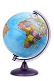 Globo África imagem de stock