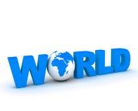 Globo 002 do mundo de WWW Imagem de Stock