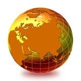 Globo 1 do mundo Foto de Stock Royalty Free