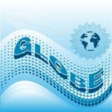 Globo ilustração stock