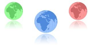 globo Foto de Stock Royalty Free