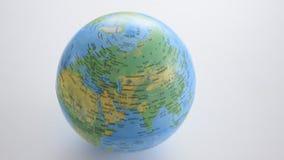 Globo aislado del mundo, por todo el mundo metrajes
